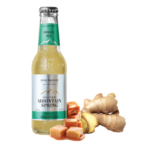 Swiss Mountain Spring - Ginger Ale